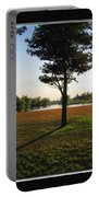 Long Evening Shadow Portable Battery Charger