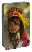 Long Neck Beauty Karen Tribe Portable Battery Charger