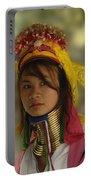 Long Neck Beauty Karen Tribe Portable Battery Charger