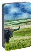 Longhorn Prarie Portable Battery Charger
