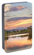 Longs Peak Evening Sunset View Portable Battery Charger