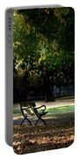 Lonley Park Bench Portable Battery Charger