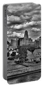 Looking Downtown From The Erie Basin Marina Portable Battery Charger
