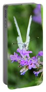 Looking Into Butterfly Eyes Portable Battery Charger
