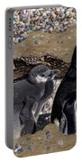 Looking Out For You - Penguins Portable Battery Charger