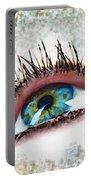Looking Up Eye Art Portable Battery Charger