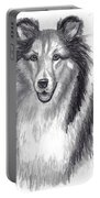 Looks Like Lassie Portable Battery Charger