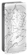 Lorraine And Alsace: Map Portable Battery Charger