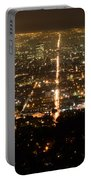 Los Angeles At Night 2 Portable Battery Charger
