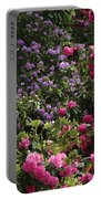 Lots Of Blooms Portable Battery Charger