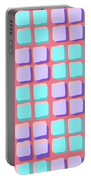 Lots Of Squares Portable Battery Charger