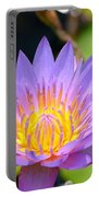 Lotus Aglow Portable Battery Charger