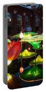 Lotus Flower Portable Battery Charger by Semmick Photo