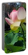 Lotus Lily Standing Tall Portable Battery Charger