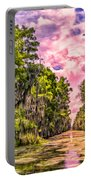 Louisiana Bayou Sunrise Portable Battery Charger