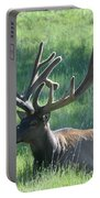 Lounging Elk Portable Battery Charger