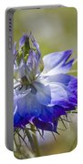 Love In The Mist - Nigella Portable Battery Charger