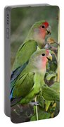 Lovebird Couple  Portable Battery Charger