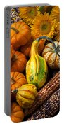 Lovely Autumn Portable Battery Charger