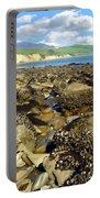 Low Tide At Gaviota Portable Battery Charger