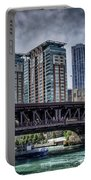 Lsd Lake Shore Drive In Color Portable Battery Charger