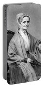 Lucretia Coffin Mott, American Activist Portable Battery Charger by Photo Researchers