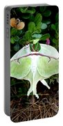 Luna Moths' Afternoon Delight Portable Battery Charger
