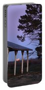 Lunar Eclipse At The Farm Portable Battery Charger