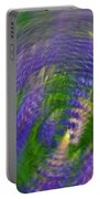 Lupine Swirl Portable Battery Charger