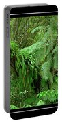 Lush Green Landscape Portable Battery Charger