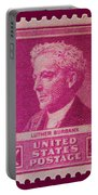 Luther Burbank Postage Stamp Portable Battery Charger