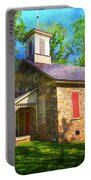 Lutz-franklin Schoolhouse Portable Battery Charger by Paul Ward