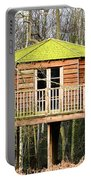 Luxury Tree House In The Woods Portable Battery Charger
