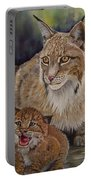 Lynx Mom And Baby Portable Battery Charger