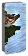 Ma And Pa Wood Duck Portable Battery Charger