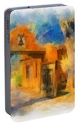 Mabel's Gate Watercolor Portable Battery Charger