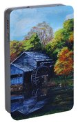 Mabry Mill In Autumn Portable Battery Charger