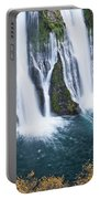 Macarthur-burney Falls In Autumn Portable Battery Charger