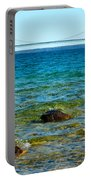 Mackinac On The Rocks Portable Battery Charger