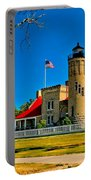 Mackinac Point Light Portable Battery Charger