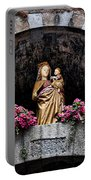 Madonna And Child Arch Portable Battery Charger