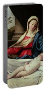Madonna And Child  Portable Battery Charger by II Sassoferrato