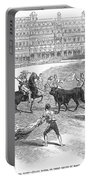 Madrid: Bullfight, 1846 Portable Battery Charger