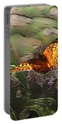 Magical Places For Butterflies Portable Battery Charger