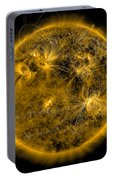 Magnetic Field Lines On The Sun Portable Battery Charger