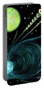 Magnetic White Dwarf Star Euvej0317-855 Portable Battery Charger