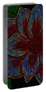 Magnolia Abstract Sketch Portable Battery Charger