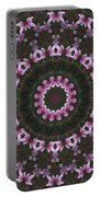 Magnolia  Diva Abstract Portable Battery Charger