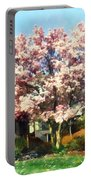 Magnolia Near Green House Portable Battery Charger