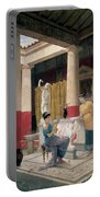 Maidens In A Classical Interior Portable Battery Charger